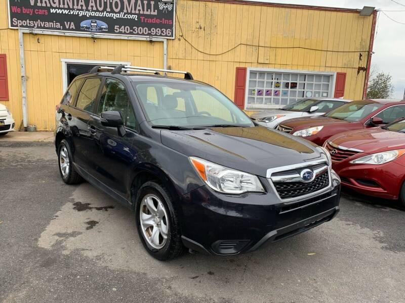 2014 Subaru Forester for sale at Virginia Auto Mall in Woodford VA