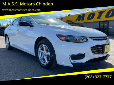 2017 Chevrolet Malibu for sale at M.A.S.S. Motors Chinden in Garden City ID