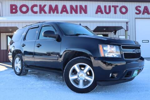 2007 Chevrolet Tahoe for sale at Bockmann Auto Sales in St. Paul NE