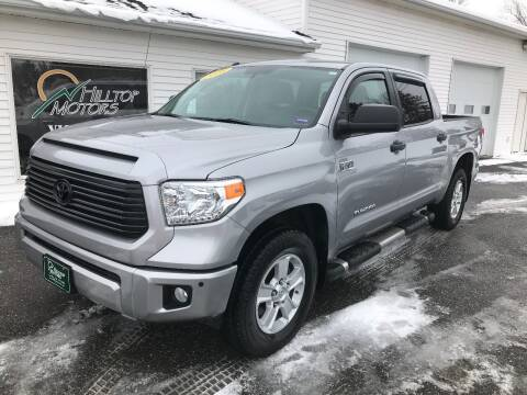 2016 Toyota Tundra for sale at HILLTOP MOTORS INC in Caribou ME