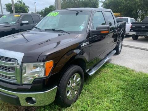 2013 Ford F-150 for sale at DAN'S DEALS ON WHEELS AUTO SALES, INC. in Davie FL