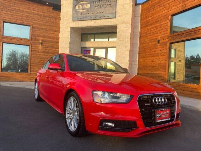 2016 Audi A4 for sale at Hamilton Motors in Lehi UT