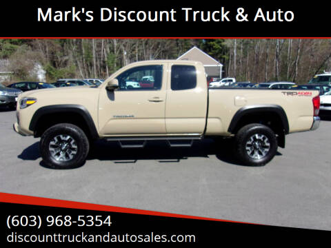 2017 Toyota Tacoma for sale at Mark's Discount Truck & Auto in Londonderry NH