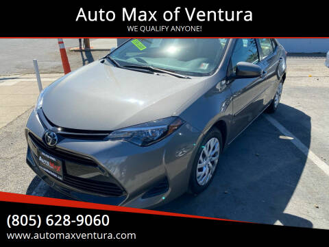 2018 Toyota Corolla for sale at Auto Max of Ventura in Ventura CA