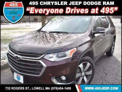 2018 Chevrolet Traverse for sale at 495 Chrysler Jeep Dodge Ram in Lowell MA