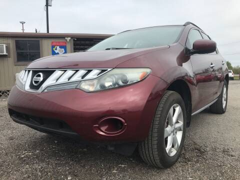 2009 Nissan Murano for sale at Texas Country Auto Sales LLC in Austin TX