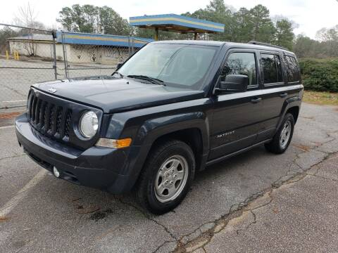 2015 Jeep Patriot for sale at GEORGIA AUTO DEALER, LLC in Buford GA