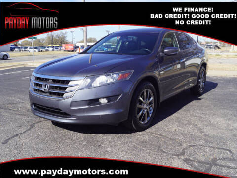 2012 Honda Crosstour for sale at Payday Motors in Wichita And Topeka KS