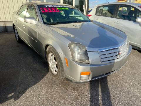2007 Cadillac CTS for sale at BELOW BOOK AUTO SALES in Idaho Falls ID