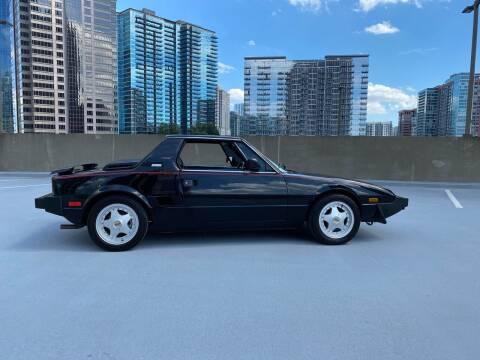 1987 BERTONE X1/9 for sale at Motor Co in Atlanta GA