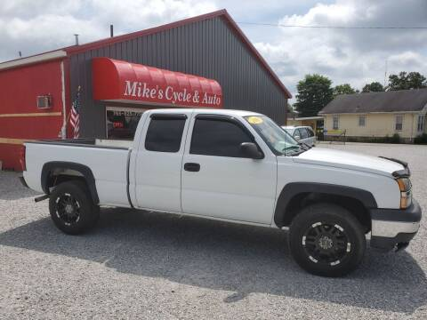 2005 Chevrolet Silverado 1500 for sale at MIKE'S CYCLE & AUTO in Connersville IN