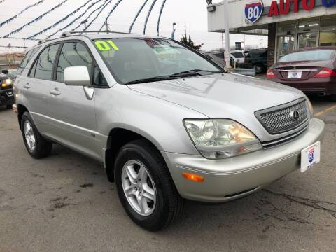 2001 Lexus RX 300 for sale at I-80 Auto Sales in Hazel Crest IL