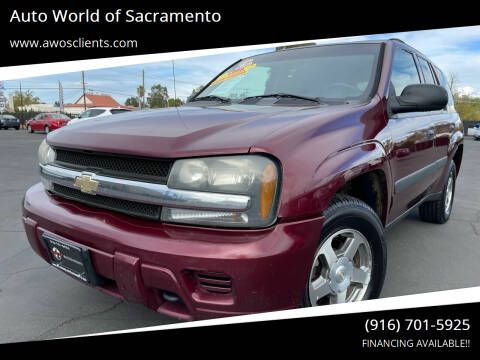2005 Chevrolet TrailBlazer for sale at Auto World of Sacramento Stockton Blvd in Sacramento CA