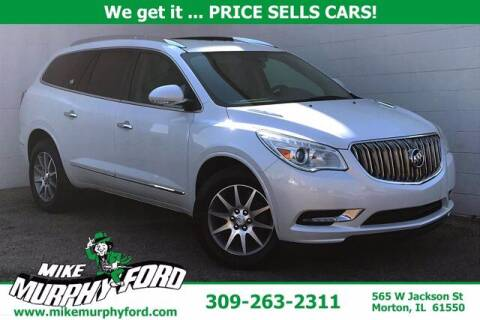 2017 Buick Enclave for sale at Mike Murphy Ford in Morton IL