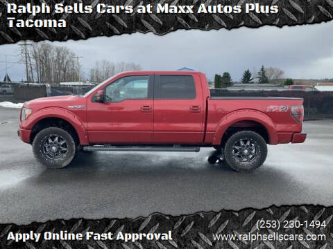 2012 Ford F-150 for sale at Ralph Sells Cars at Maxx Autos Plus Tacoma in Tacoma WA