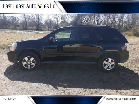2008 Chevrolet Equinox for sale at East Coast Auto Sales llc in Virginia Beach VA