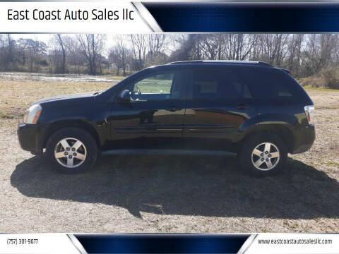 2008 Chevrolet Equinox for sale at East Coast Auto Sales llc in Virginia Beach VA