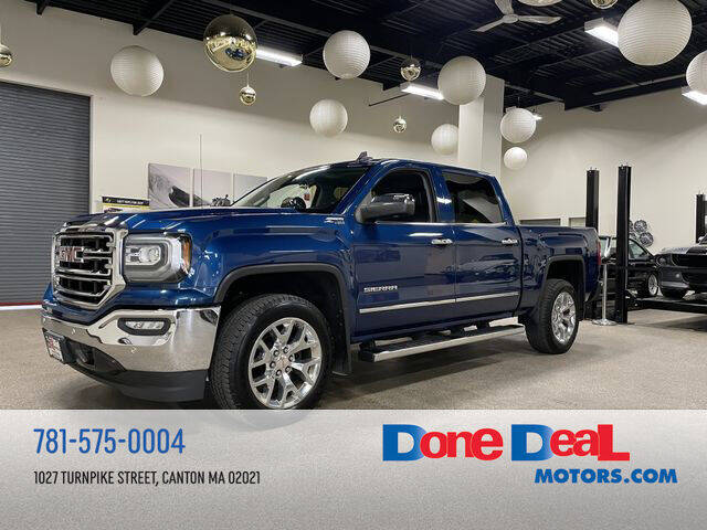 2016 GMC Sierra 1500 for sale at DONE DEAL MOTORS in Canton MA