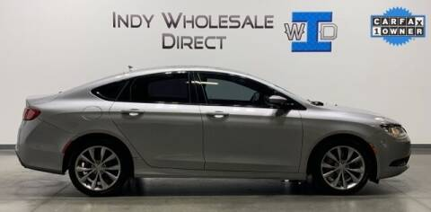 2015 Chrysler 200 for sale at Indy Wholesale Direct in Carmel IN