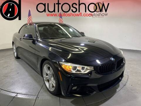 2016 BMW 4 Series for sale at AUTOSHOW SALES & SERVICE in Plantation FL