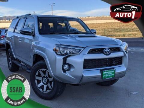 2018 Toyota 4Runner for sale at Street Smart Auto Brokers in Colorado Springs CO