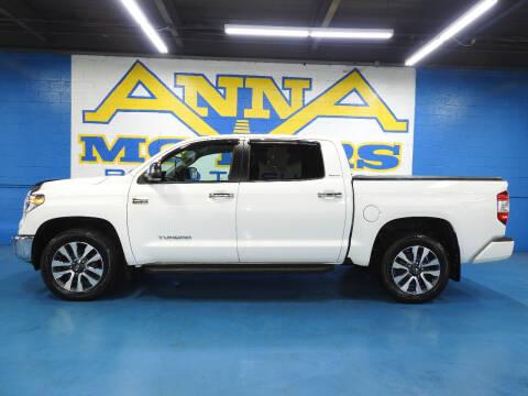 2018 Toyota Tundra for sale at ANNA MOTORS, INC. in Detroit MI