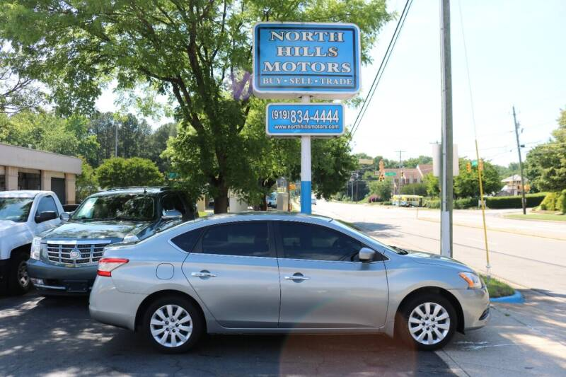2013 Nissan Sentra for sale at North Hills Motors in Raleigh NC
