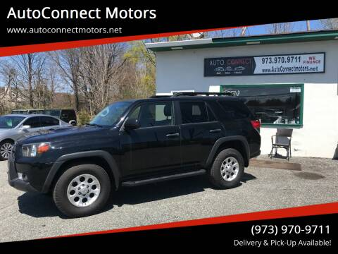 2012 Toyota 4Runner for sale at AutoConnect Motors in Kenvil NJ