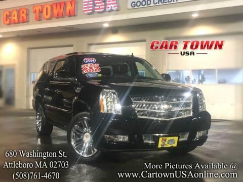 2014 Cadillac Escalade ESV for sale at Car Town USA in Attleboro MA