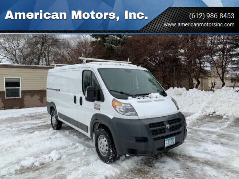 2017 RAM ProMaster Cargo for sale at American Motors, Inc. in Farmington MN
