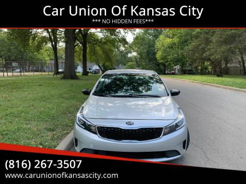 2017 Kia Forte for sale at Car Union Of Kansas City in Kansas City MO