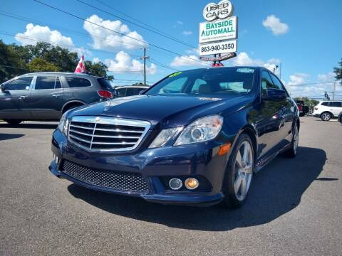 2010 Mercedes-Benz E-Class for sale at BAYSIDE AUTOMALL in Lakeland FL