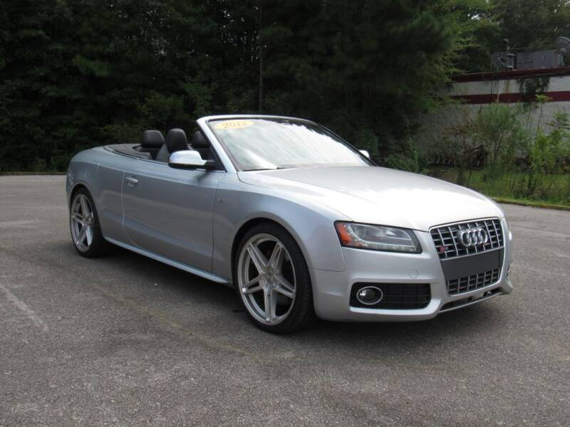 2012 Audi S5 for sale at Discount Auto Sales in Pell City AL