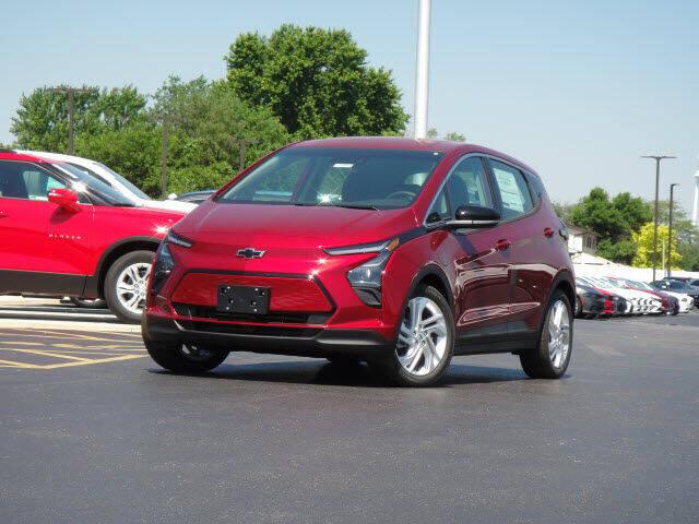 2022 Chevrolet Bolt EV for sale at Jack Schmitt Chevrolet Wood River in Wood River IL