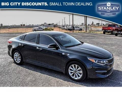 2016 Kia Optima for sale at STANLEY FORD ANDREWS in Andrews TX