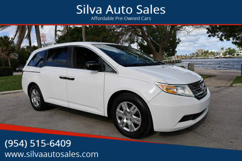 2013 Honda Odyssey for sale at Silva Auto Sales in Pompano Beach FL