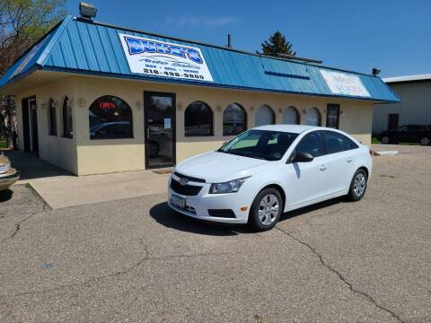 2013 Chevrolet Cruze for sale at Dukes Auto Sales in Glyndon MN