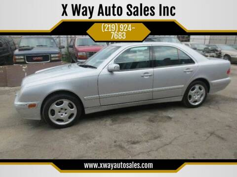 2001 Mercedes-Benz E-Class for sale at X Way Auto Sales Inc in Gary IN