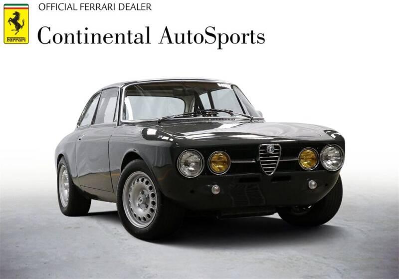 1969 Alfa Romeo GTV6 for sale at CONTINENTAL AUTO SPORTS in Hinsdale IL