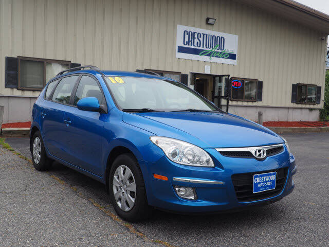 2010 Hyundai Elantra Touring for sale at Crestwood Auto Sales in Swansea MA