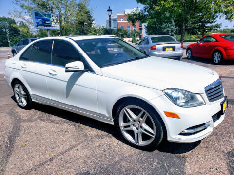 2012 Mercedes-Benz C-Class for sale at J & M PRECISION AUTOMOTIVE, INC in Fort Collins CO
