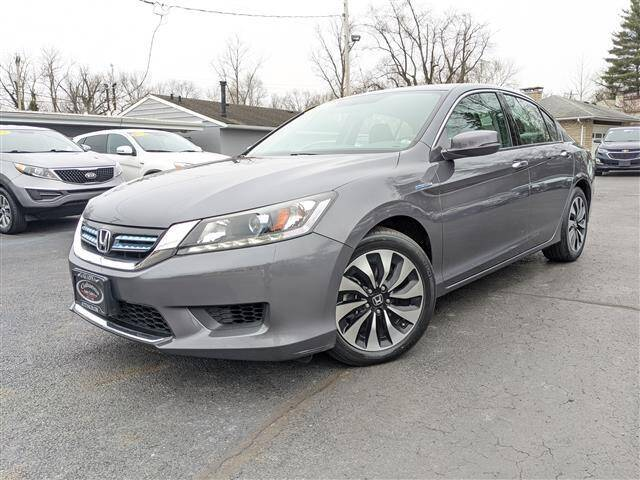 2015 Honda Accord Hybrid for sale at GAHANNA AUTO SALES in Gahanna OH