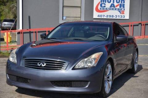 2010 Infiniti G37 Coupe for sale at Motor Car Concepts II - Apopka Location in Apopka FL