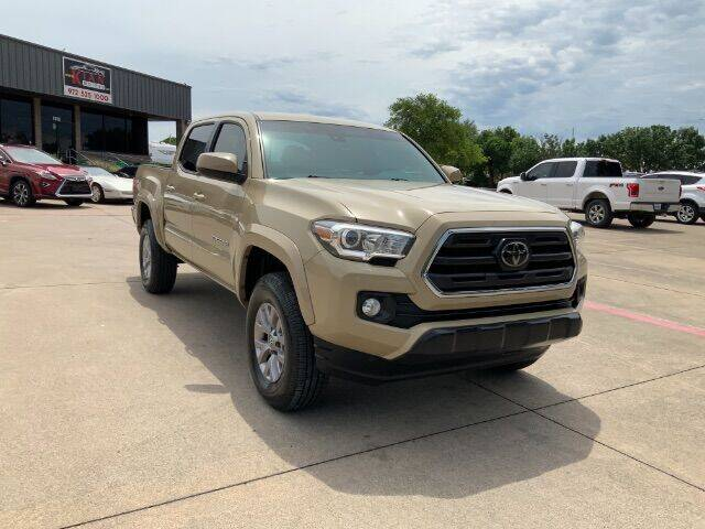 2018 Toyota Tacoma for sale at KIAN MOTORS INC in Plano TX