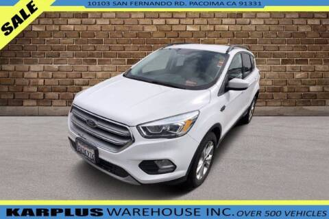 2017 Ford Escape for sale at Karplus Warehouse in Pacoima CA