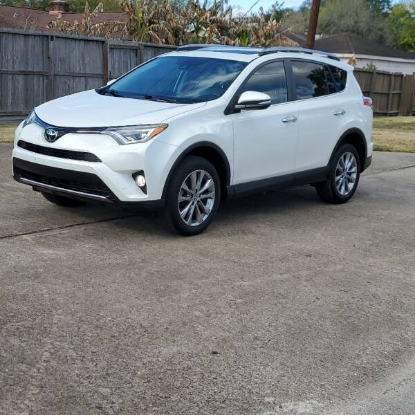 2017 Toyota RAV4 for sale at MOTORSPORTS IMPORTS in Houston TX