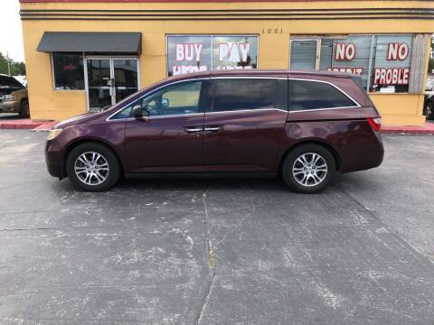 2011 Honda Odyssey for sale at BSS AUTO SALES INC in Eustis FL