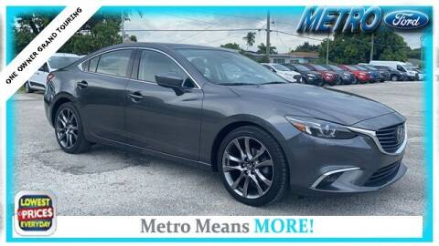 2017 Mazda MAZDA6 for sale at Your First Vehicle in Miami FL