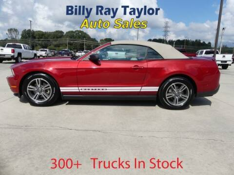 2011 Ford Mustang for sale at Billy Ray Taylor Auto Sales in Cullman AL