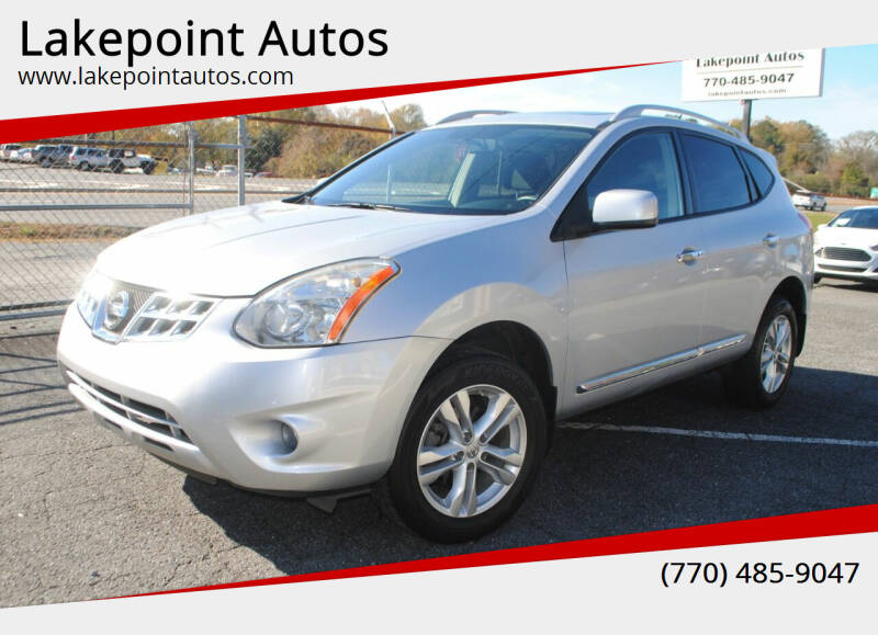 2013 Nissan Rogue for sale at Lakepoint Autos in Cartersville GA